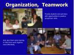 organization teamwork