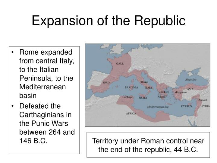 Expansion of the Republic