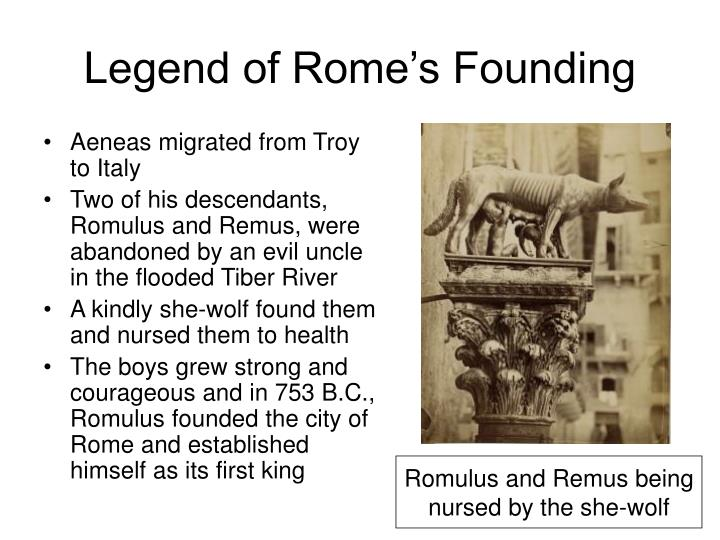 Legend of Rome's Founding