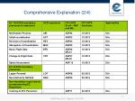 comprehensive explanation 2 4