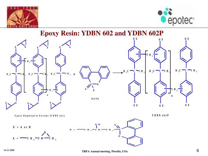 Epoxy Resin: YDBN 602 and YDBN 602P