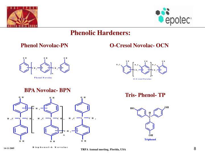 Phenolic Hardeners: