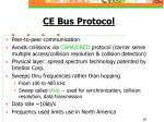 ce bus protocol