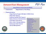 intranet seat management