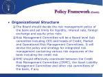 policy framework contd2
