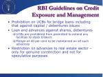 rbi guidelines on credit exposure and management1