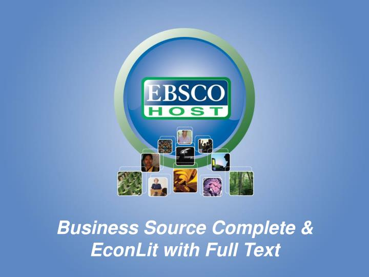 Business Source Complete &