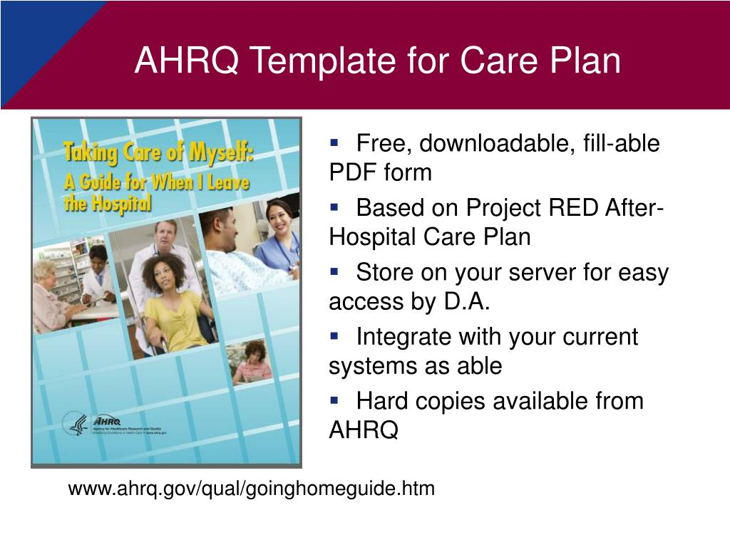 PPT - Project RED Re-Engineering Discharge PowerPoint