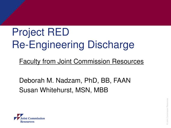 project red re engineering discharge n.