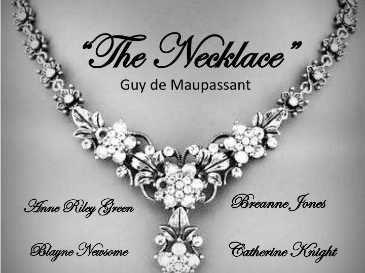 The Necklace PDF Free Download