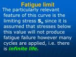 fatigue limit