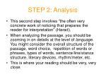 step 2 analysis
