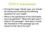 step 3 interpretation