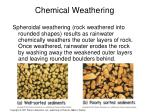 chemical weathering1