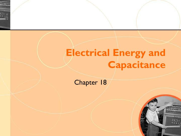 electrical energy and capacitance n.