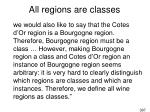 all regions are classes