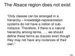 the alsace region does not exist