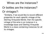 wines are the instances1