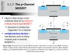 5 1 7 the p channel mosfet