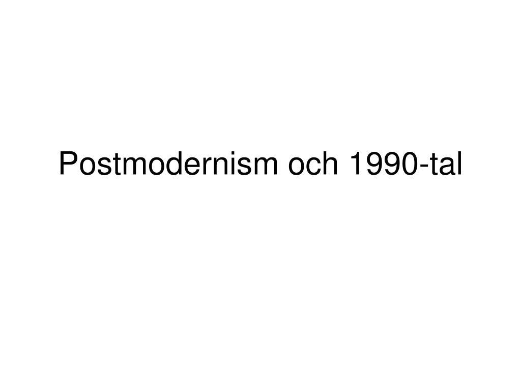 Vada postmodernist