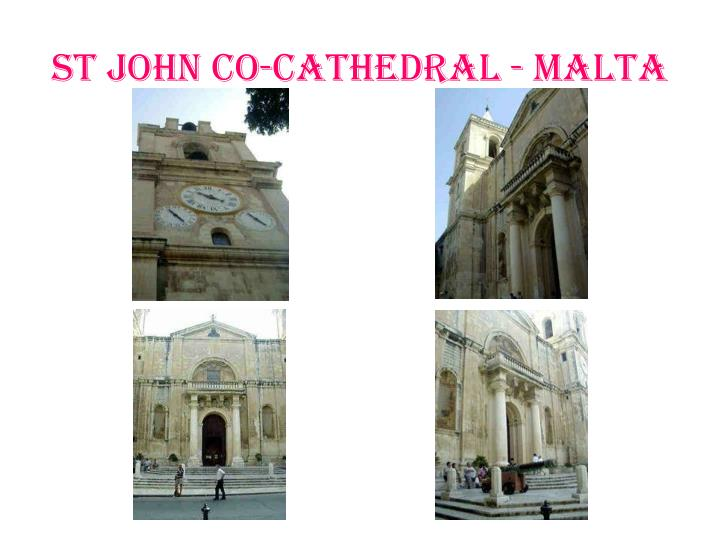st john co cathedral malta n.