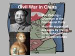 civil war in china