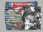 u s fights in korea