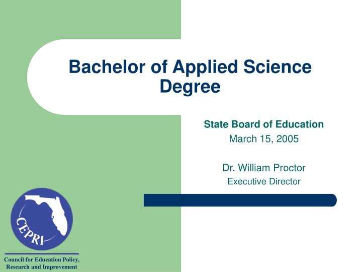 bachelor of applied science degree n.
