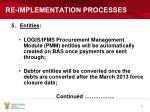 re implementation processes5