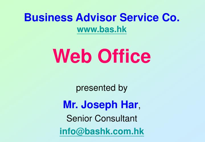 business advisor service co www bas hk n.