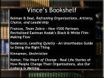 vince s bookshelf