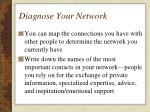 diagnose your network