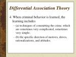 differential association theory2