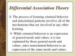 differential association theory5