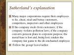 sutherland s explanation1