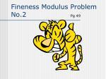 fineness modulus problem no 2