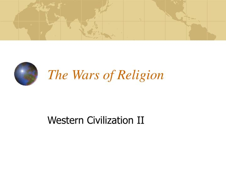 the wars of religion n.