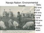 navajo nation environmental issues