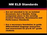 nm eld standards1