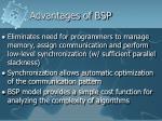 advantages of bsp