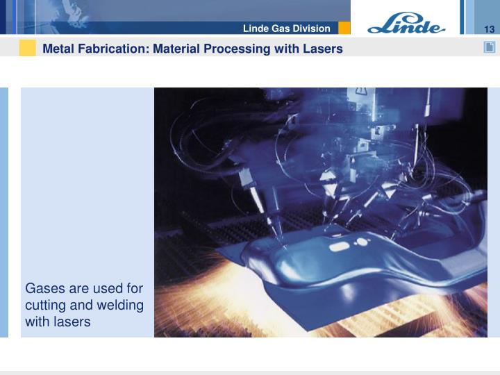 Metal Fabrication: Material Processing with Lasers