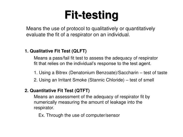 Fit-testing
