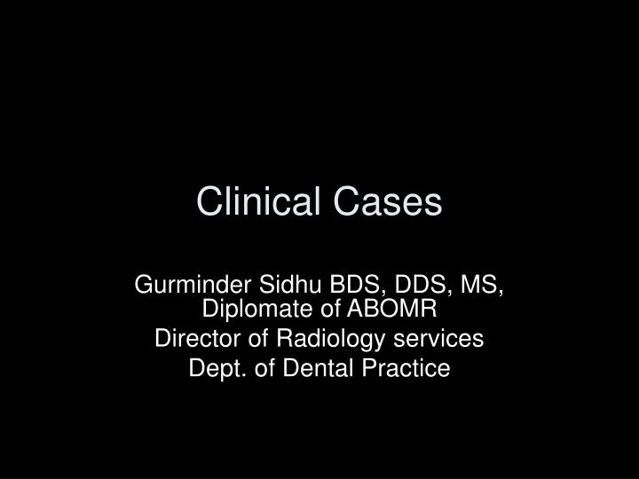 clinical cases n.