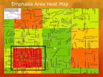 emphasis area heat map