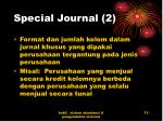 special journal 2