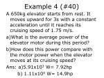 example 4 40