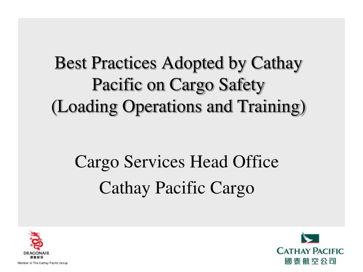 cargo services head office cathay pacific cargo n.