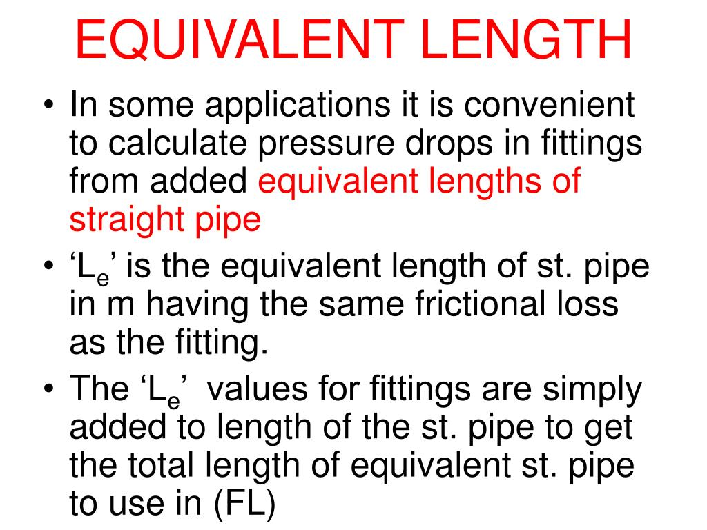 PPT - Friction losses in Expansion, Contraction & Pipe