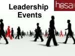 leadership events