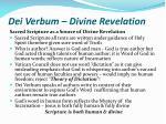 dei verbum divine revelation11